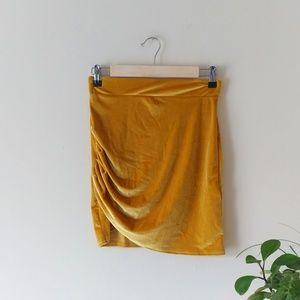 Glamorous Velvet Skirt